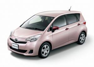 Toyota Ractis II (правый руль) 2010-2016
