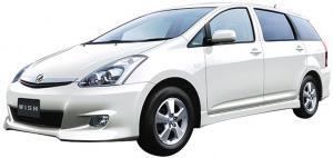 Toyota Wish I (2003-2009) (правый руль)