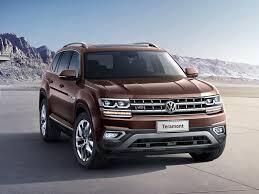 Volkswagen Teramont (7 мест) 2017 - н.в