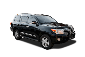 Toyota Land Cruiser 200 2007 - 2012  (5 мест)