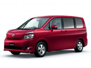 Toyota Voxy II R70 (2007-2013)(8 мест) комплектация с салазками и проходом